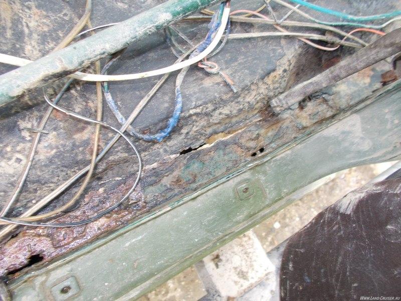 ремонт пола лодки