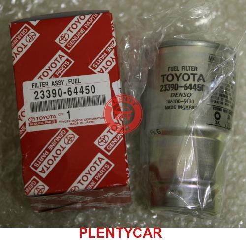 Тойота авенсис где находится топливный фильтр