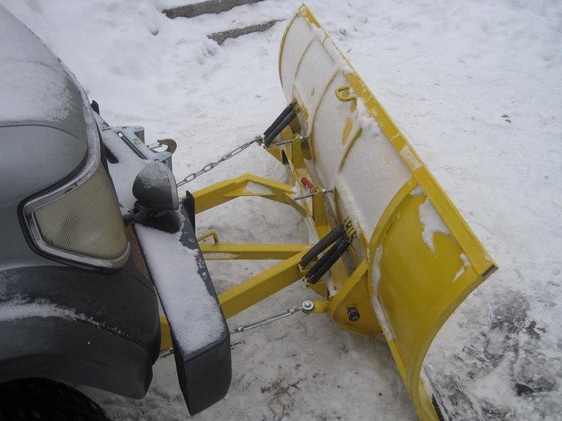 Как сделать снега отвал