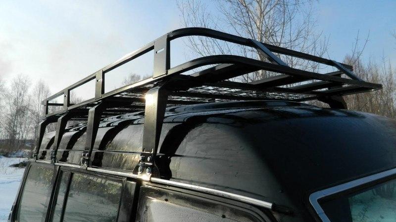 Багажник на крышу для ниссан патрол своими руками 39