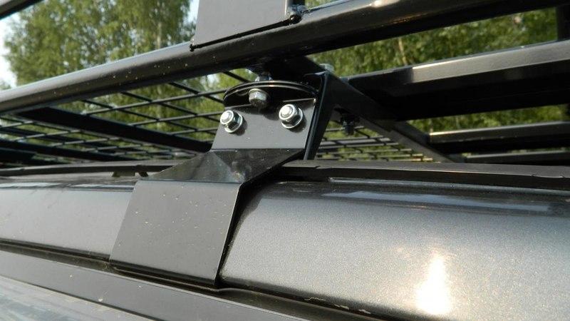 Багажник на паджеро коротыш своими руками