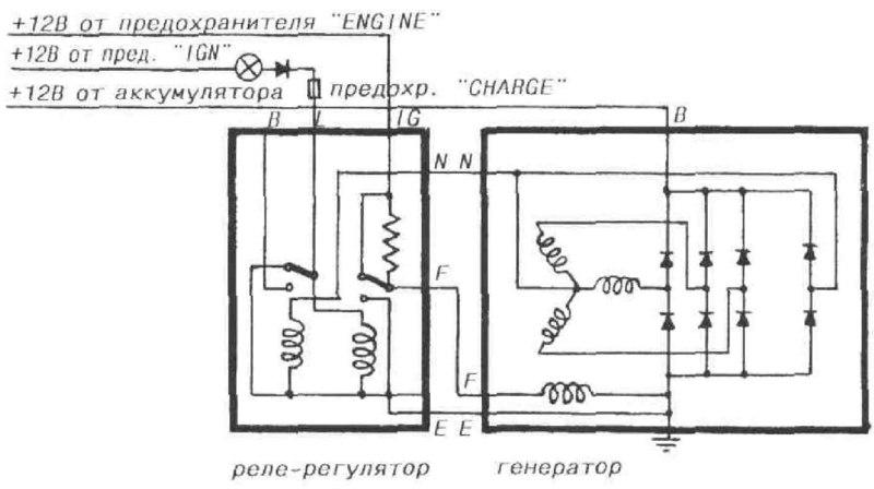 схема проводки Toyota Celica t230 #4
