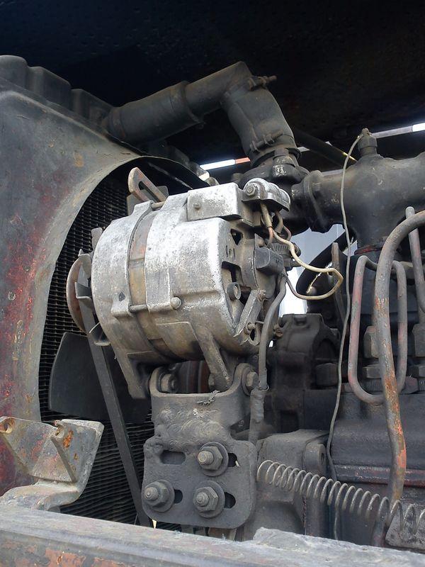 Вот генератор с камаза.