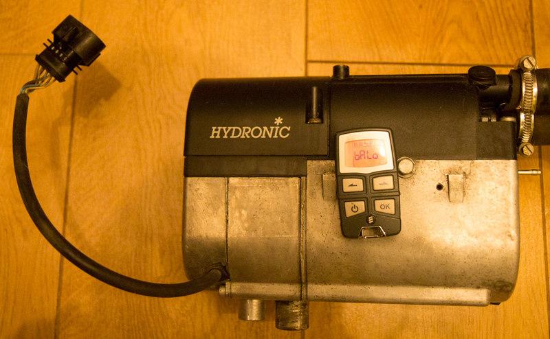 Hydronic m12 дизель 12в/24в, мощность 12 квт