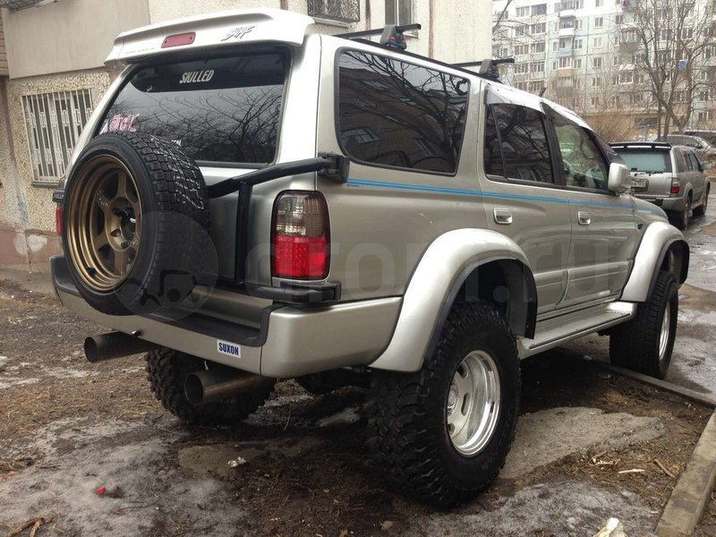 Toyota Hilux tuning #10
