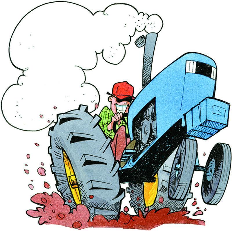 Козочки анимации, приколы с тракторами картинки