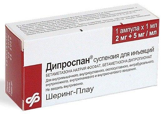 дипроспан лечение пяточной