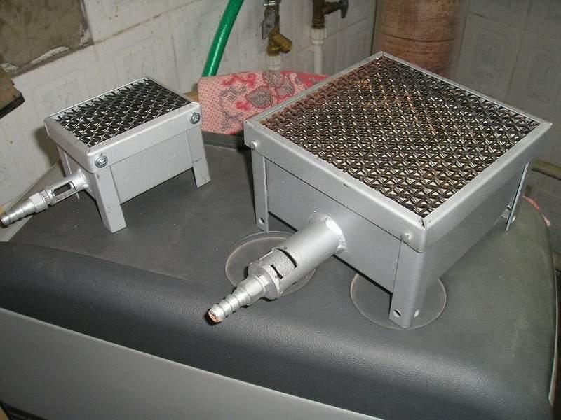 Каталитическая газовая горелка своими руками 66